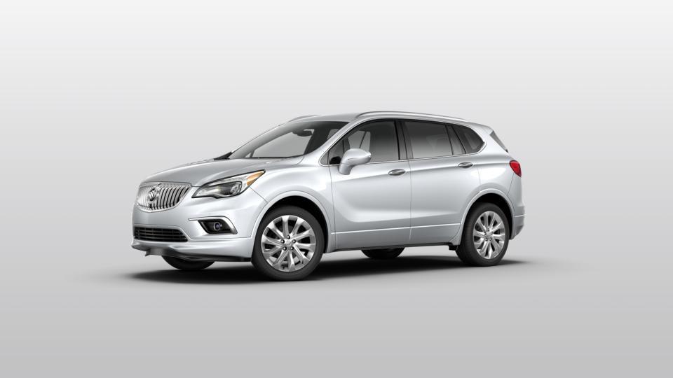 New 2017 Galaxy Silver Metallic Gray Buick Envision Awd
