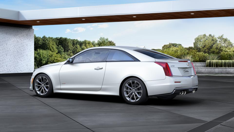 certified 2016 crystal white frost 3 6l cadillac ats v coupe for sale 5605 camargo cadillac. Black Bedroom Furniture Sets. Home Design Ideas