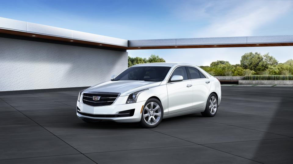 white tricoat 2016 cadillac ats sedan car in englewood cliffs nj. Cars Review. Best American Auto & Cars Review