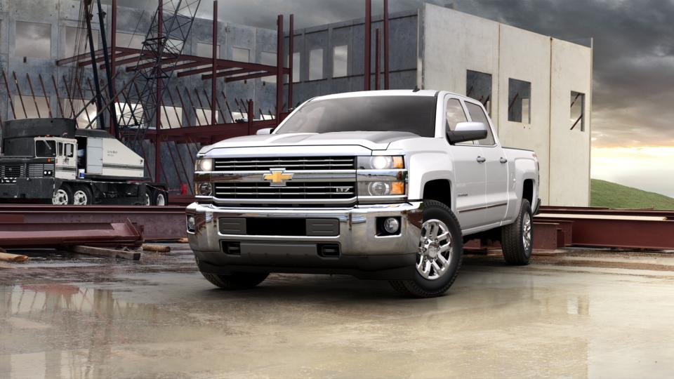 Newnan 2015 White Chevrolet Silverado 2500hd Built After Aug 14 Used Truck For Sale