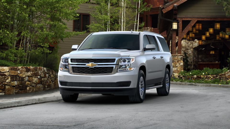 2016 silver ice 2wd 1500 ls chevrolet suburban in. Black Bedroom Furniture Sets. Home Design Ideas