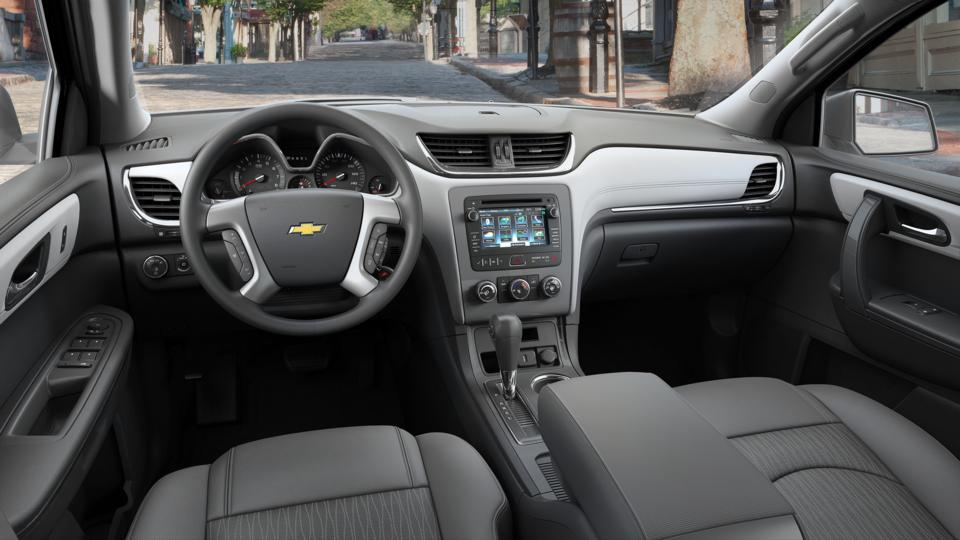 new summit white 2017 chevrolet traverse awd ls for sale indianapolis in hubler chevrolet. Black Bedroom Furniture Sets. Home Design Ideas