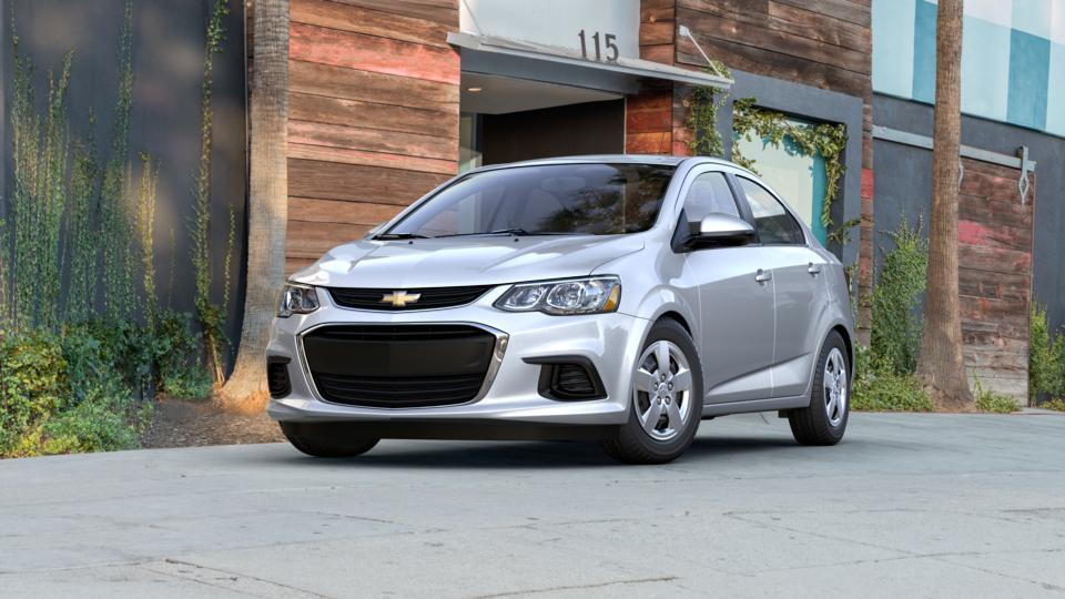 Seattle Silver Ice Metallic 2017 Chevrolet Sonic New Car