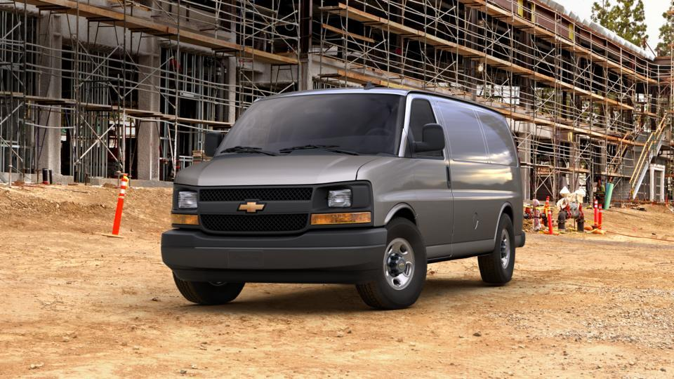 hodgkins cyber gray metallic 2017 chevrolet express cargo van new cargo van for sale 43426. Black Bedroom Furniture Sets. Home Design Ideas