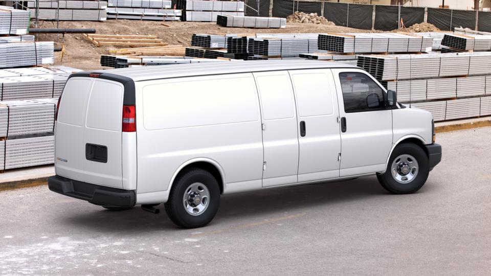New Summit White White 2017 Chevrolet Express Cargo Van ...