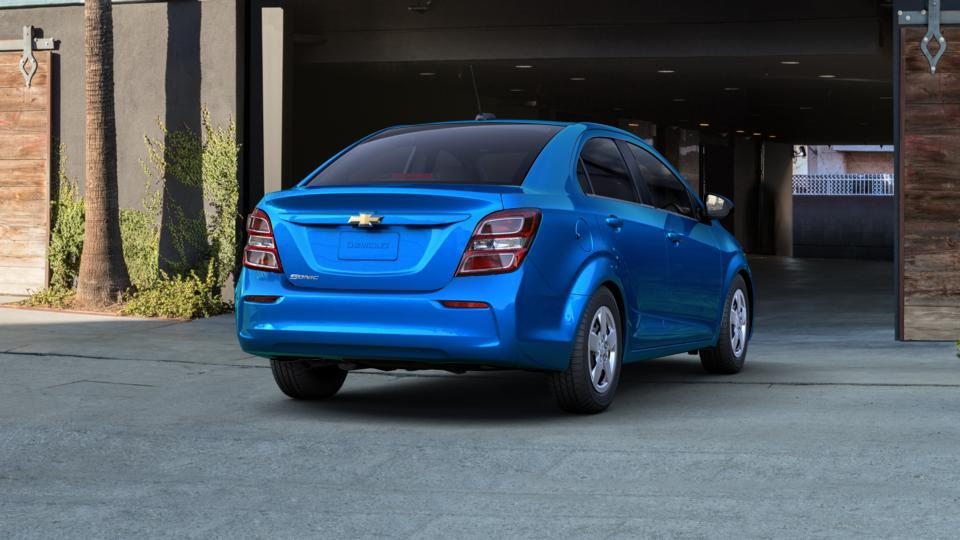 New 2017 Gd1 Kinetic Blue Chevrolet Sonic Sedan Ls Auto