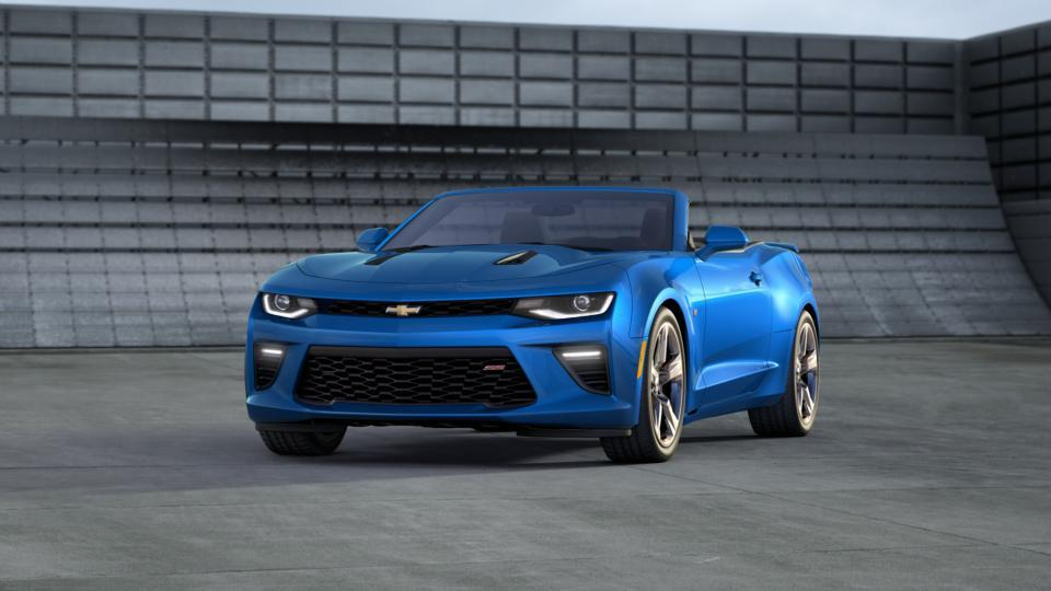 new 2017 hyper blue metallic chevrolet camaro 2dr conv 2ss for sale in little falls nj. Black Bedroom Furniture Sets. Home Design Ideas