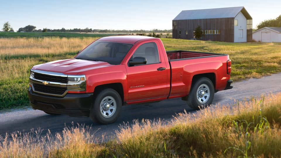Bastrop Red Hot 2017 Chevrolet Silverado 1500 New Truck