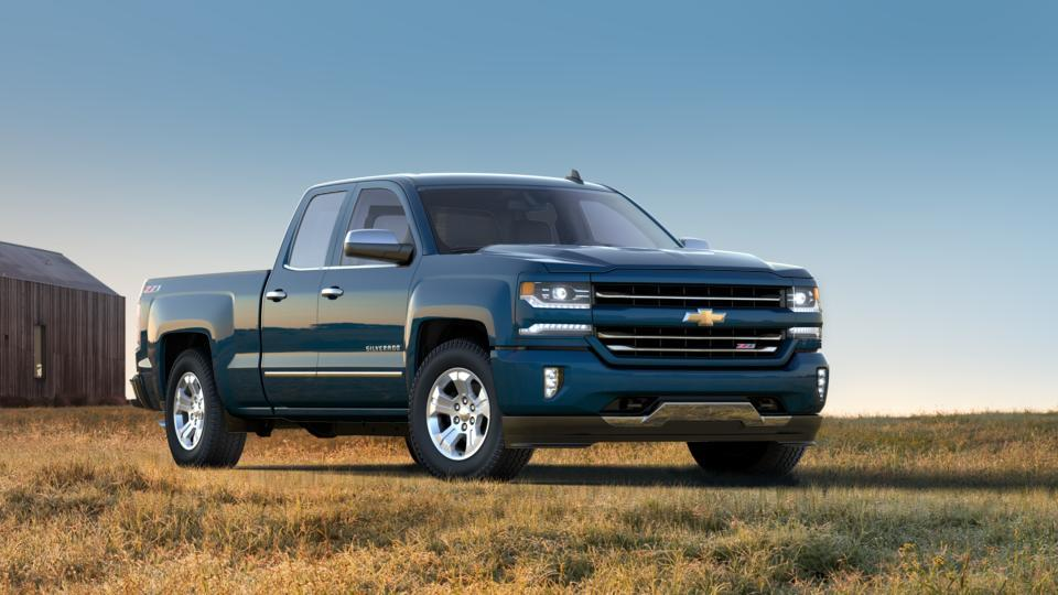 new truck 2017 deep ocean blue metallic chevrolet silverado 1500 double cab standard box 4 wheel. Black Bedroom Furniture Sets. Home Design Ideas