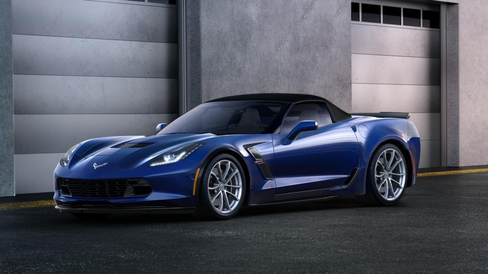 new 2017 blue chevrolet corvette grand sport convertible 2lt for sale in wheat ridge co. Black Bedroom Furniture Sets. Home Design Ideas