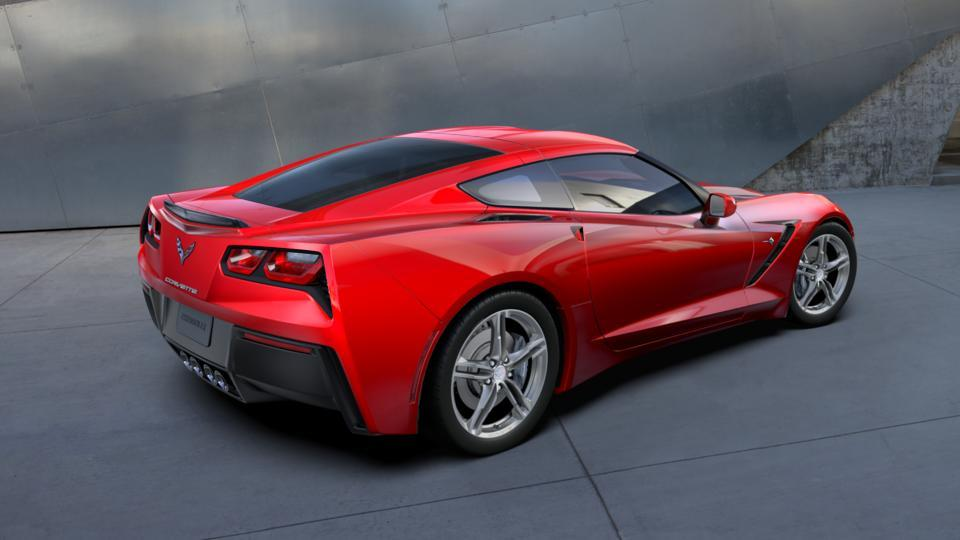 New 2017 Gkz Torch Red Chevrolet Corvette Stingray Coupe