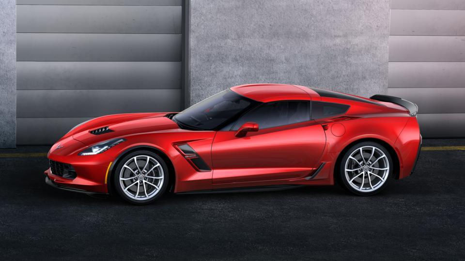 New Torch Red 2017 Chevrolet Corvette Grand Sport Coupe