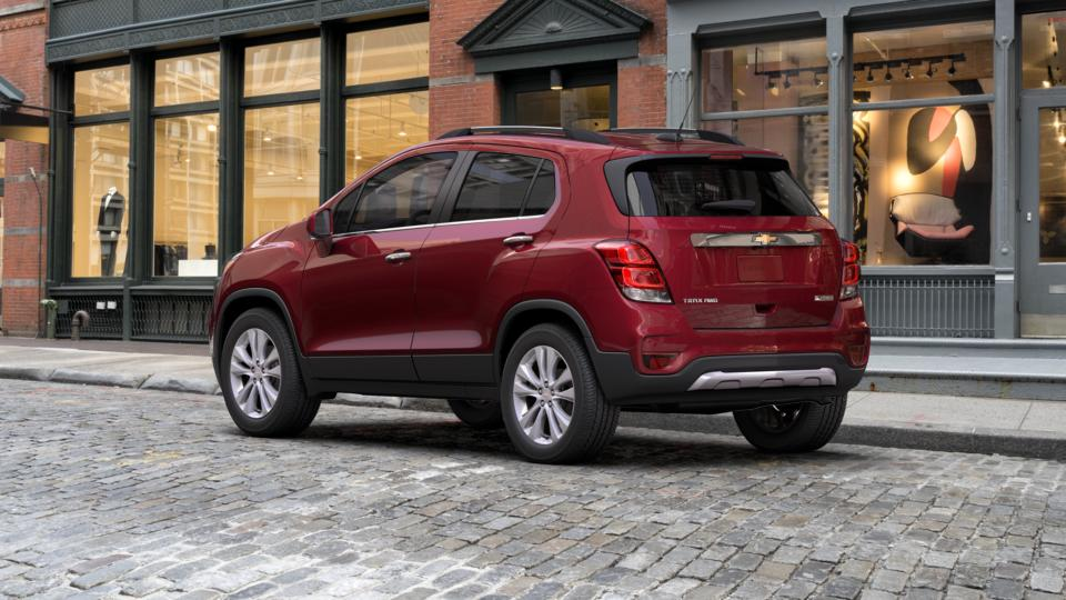 new 2017 g7t crimson metallic chevrolet trax awd 4dr premier for sale in dubuque at bird chevrolet. Black Bedroom Furniture Sets. Home Design Ideas