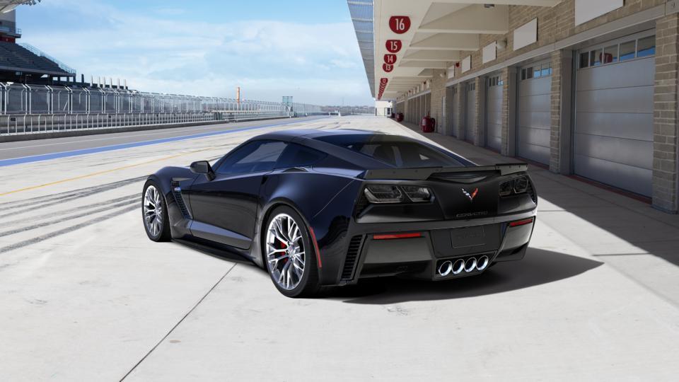 New 2017 Gba Black Chevrolet Corvette Coupe Z06 1lz For