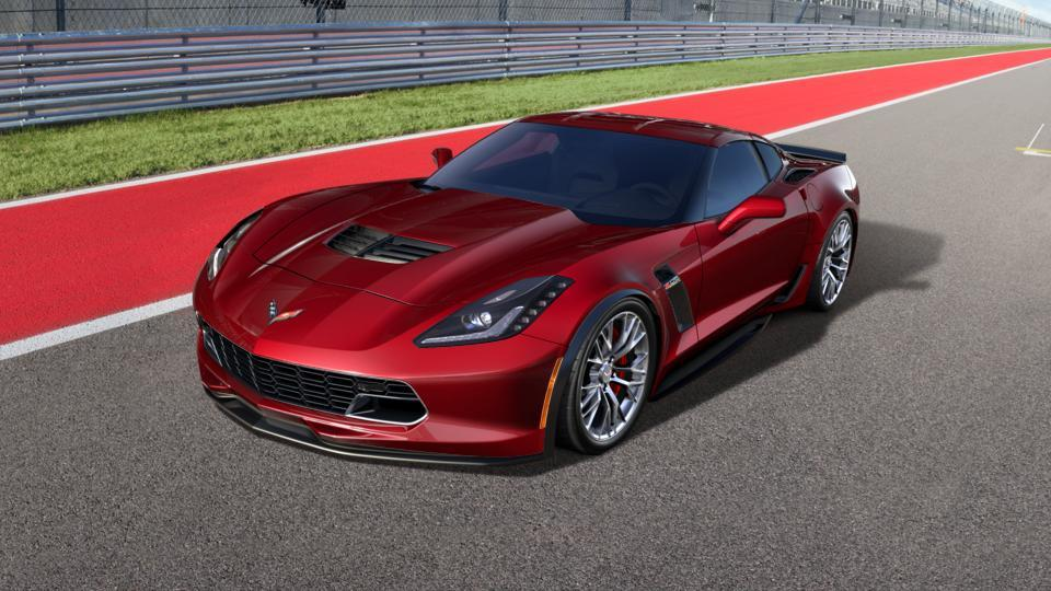Awesome Columbia Red 2017 Chevrolet Corvette New Car For Sale