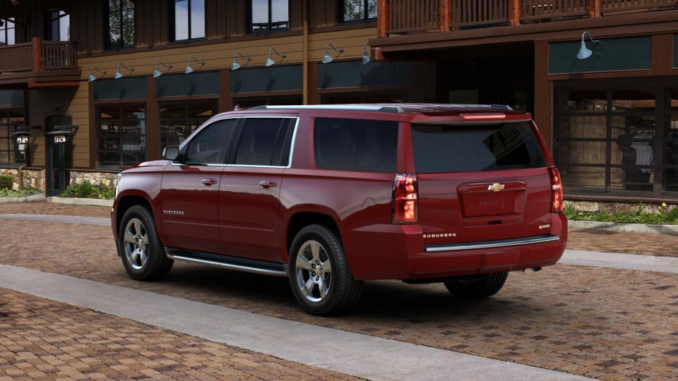 New 2017 Siren Red Tintcoat Chevrolet Suburban 4wd 1500