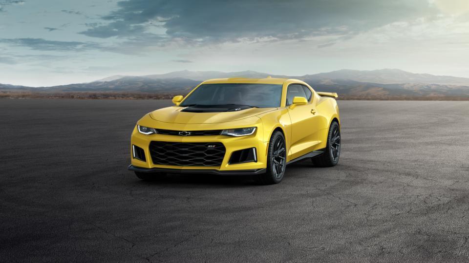 New Car 2017 Bright Yellow Chevrolet Camaro 2dr Cpe Zl1