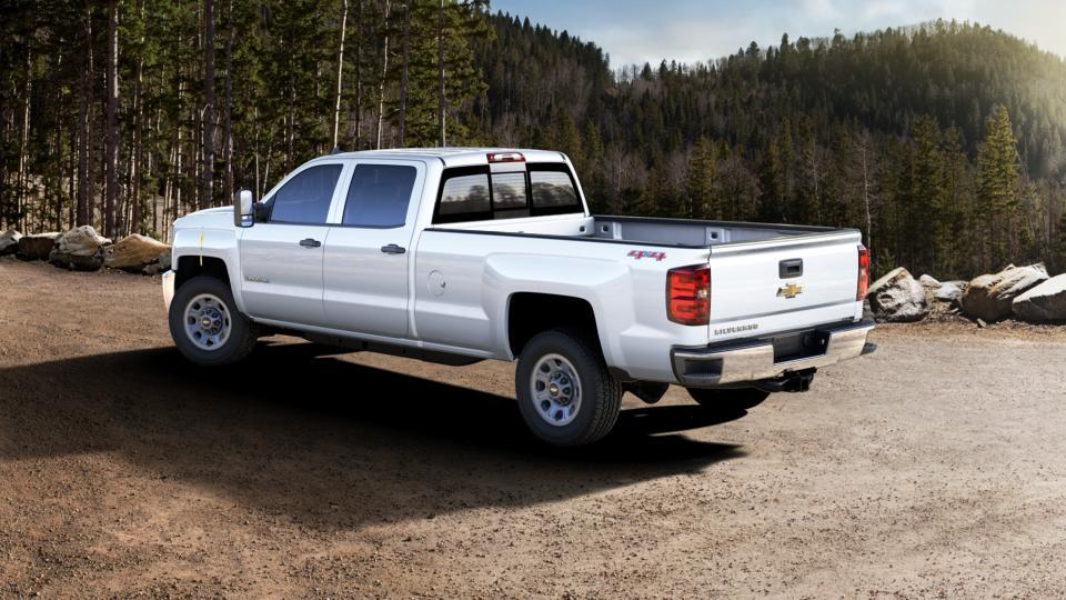 new summit white 2017 chevrolet silverado 3500hd crew cab long box 4 wheel drive work truck for. Black Bedroom Furniture Sets. Home Design Ideas