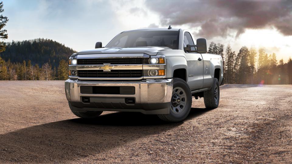 new truck 2017 silver ice metallic chevrolet silverado 3500hd regular cab long box 4 wheel drive. Black Bedroom Furniture Sets. Home Design Ideas