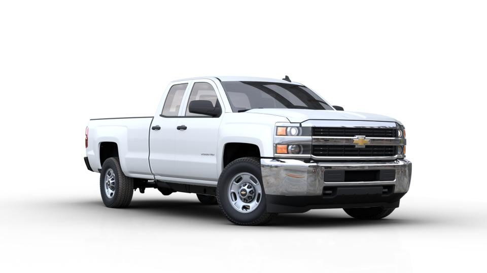new summit white 2017 chevrolet silverado 2500hd double cab long box 2 wheel drive work truck. Black Bedroom Furniture Sets. Home Design Ideas