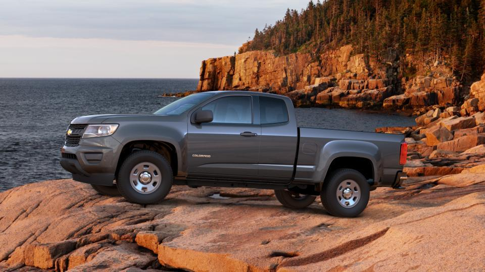 new cyber gray metallic 2017 chevrolet colorado extended cab long box 2 wheel drive wt in san. Black Bedroom Furniture Sets. Home Design Ideas