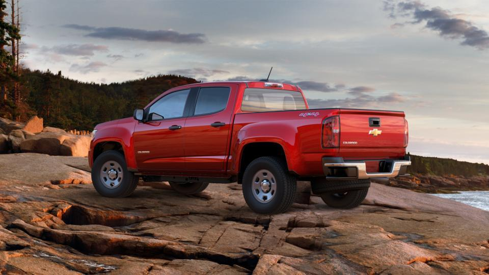 new truck 2017 red hot chevrolet colorado crew cab short box 4 wheel drive wt for sale in wv. Black Bedroom Furniture Sets. Home Design Ideas