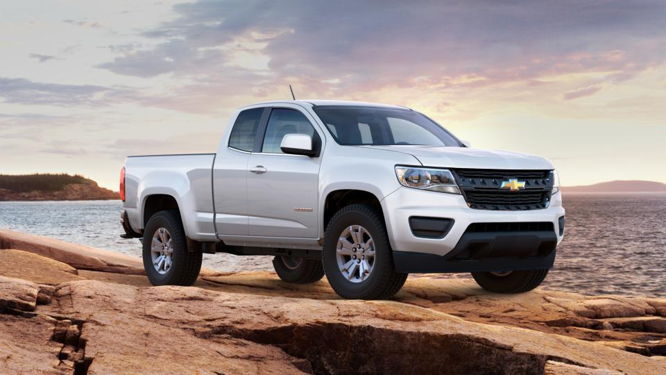 new 2017 white chevrolet colorado extended cab long box 2 wheel drive lt for sale in lake wales. Black Bedroom Furniture Sets. Home Design Ideas