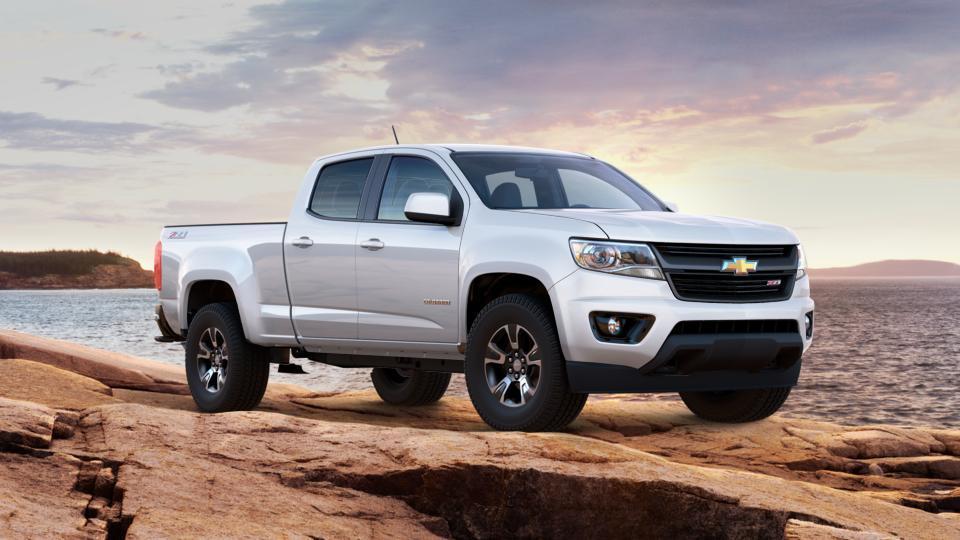Dyer Chevrolet Fort Pierce >> New 2017 Summit White Chevrolet Colorado Crew Cab Long Box ...