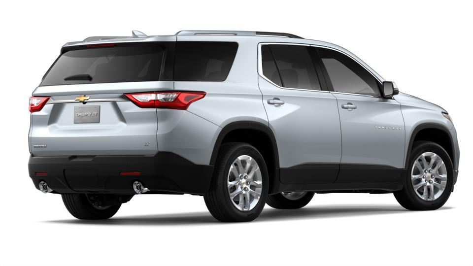 New 2018 Silver Ice Metallic Chevrolet Traverse FWD 1LT ...
