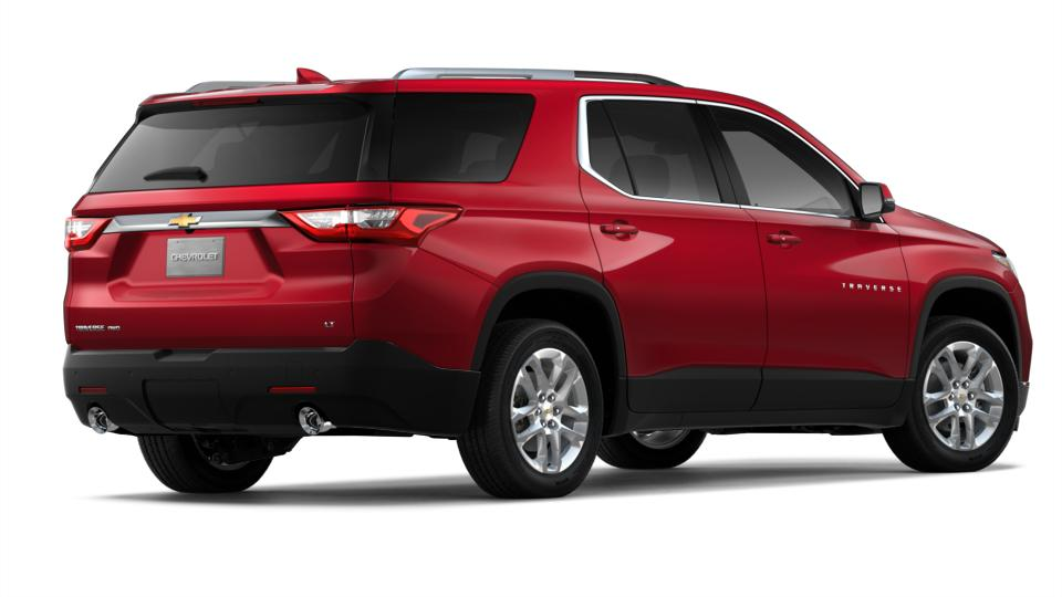 New Cajun Red Tintcoat 2018 Chevrolet Traverse AWD 1LT for ...