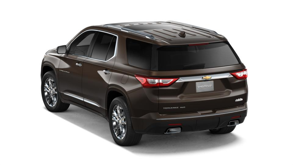 New 2018 Sable Brown Metallic Chevrolet Traverse Awd 2lz