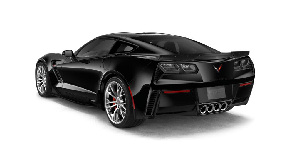 2018 Chevrolet Corvette Coupe Z06 1lz Black 2d Coupe A