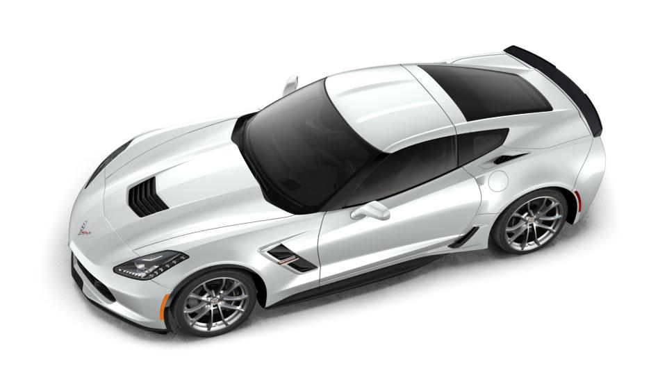 New 2018 G8g Arctic White Chevrolet Corvette Grand Sport