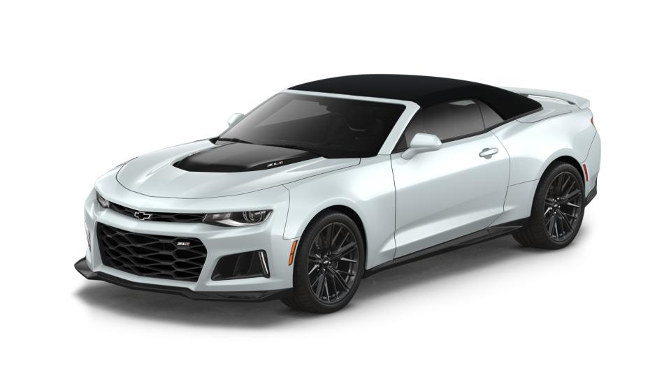 2018 Chevrolet Camaro 2dr Conv Zl1 Summit White 2d