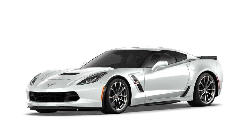 New 2018 Arctic White Chevrolet Corvette Grand Sport Coupe