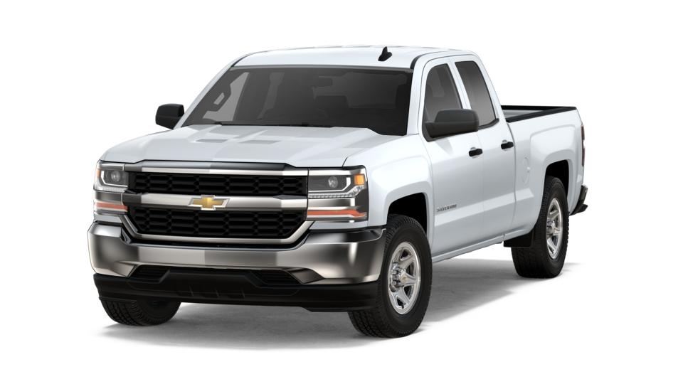 2018 White Crew Cab Long Box 2-Wheel Drive Work Truck Chevrolet ...