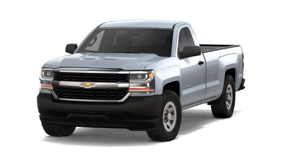 New 2018 Chevrolet Silverado 1500 Silver Ice Metallic