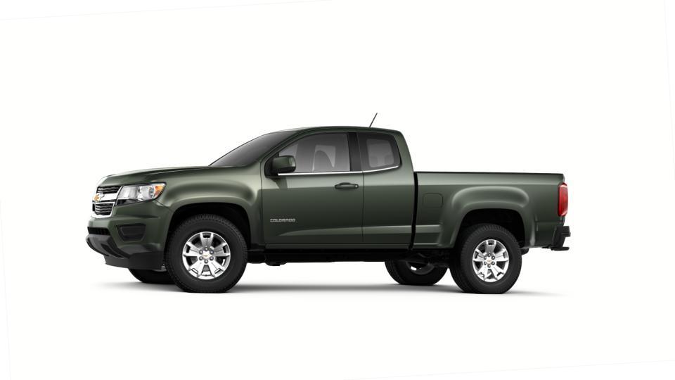 Jack Schmitt Chevy U003eu003e New Deepwood Green Metallic Green 2018 Chevrolet  Colorado Extended Cab Long