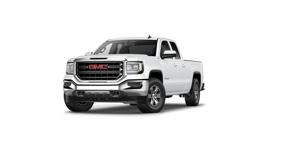 new summit white 2017 gmc sierra 1500 double cab standard box 4 wheel drive sle for sale in. Black Bedroom Furniture Sets. Home Design Ideas