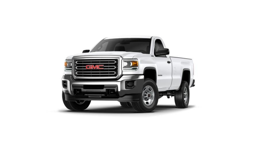 new 2017 summit white gmc sierra 2500hd regular cab long box 4 wheel drive for sale in new. Black Bedroom Furniture Sets. Home Design Ideas