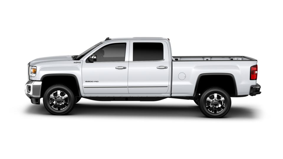 new truck 2017 summit white gmc sierra 2500hd crew cab standard box 4 wheel drive slt for sale. Black Bedroom Furniture Sets. Home Design Ideas