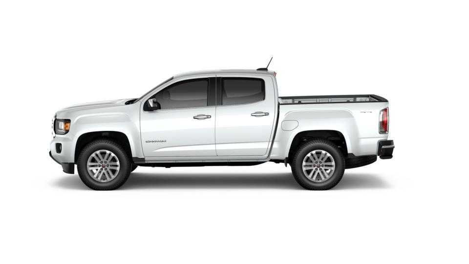 new 2017 summit white gmc canyon crew cab short box 4 wheel drive slt for sale in oregon. Black Bedroom Furniture Sets. Home Design Ideas