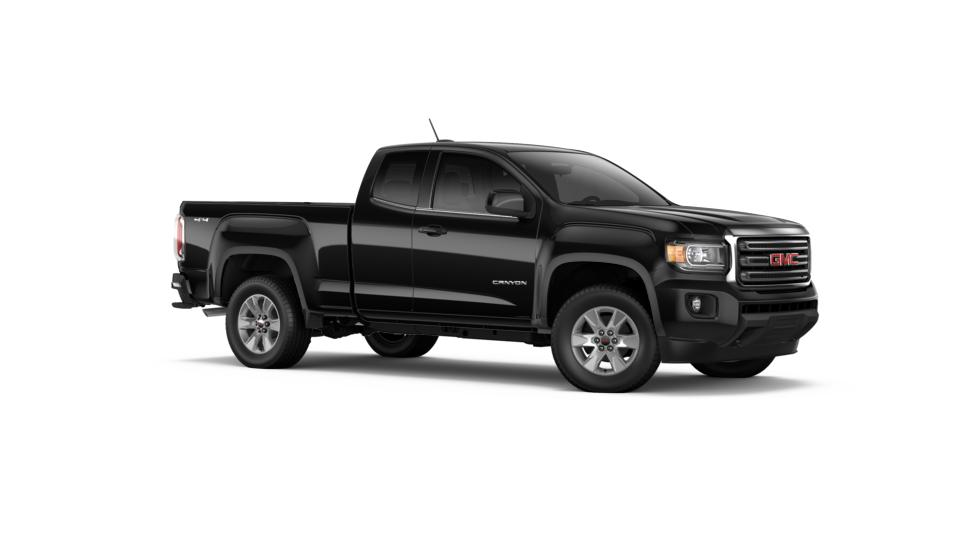 new 2017 onyx black gmc canyon extended cab long box 4 wheel drive sle for sale in oregon. Black Bedroom Furniture Sets. Home Design Ideas