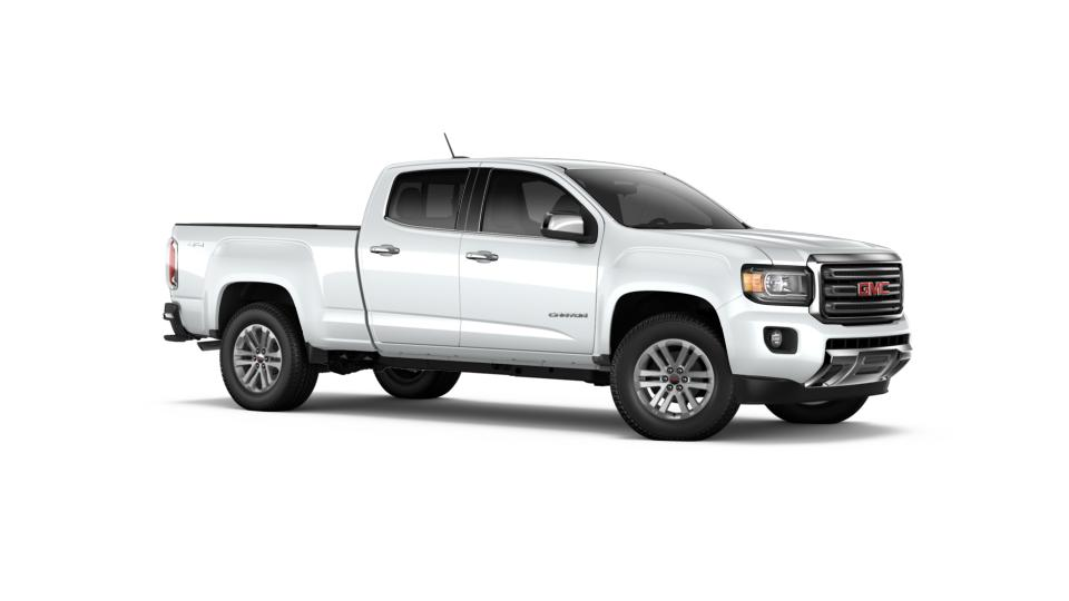 new 2017 summit white gmc canyon crew cab long box 4 wheel drive slt for sale in oregon. Black Bedroom Furniture Sets. Home Design Ideas