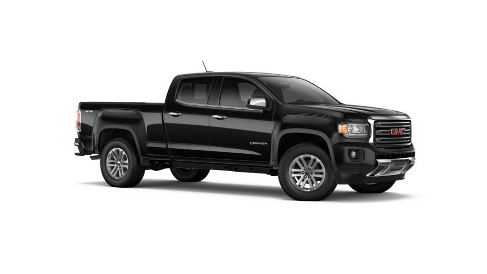new 2017 onyx black gmc canyon crew cab long box 4 wheel drive slt for sale in oregon. Black Bedroom Furniture Sets. Home Design Ideas