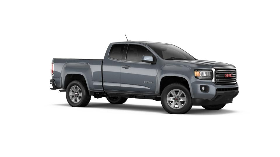 new 2017 cyber gray metallic gmc canyon extended cab long box 2 wheel drive sle for sale in. Black Bedroom Furniture Sets. Home Design Ideas