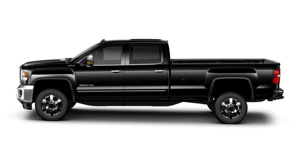 New 2018 Onyx Black Black Gmc Sierra 3500hd Crew Cab Long