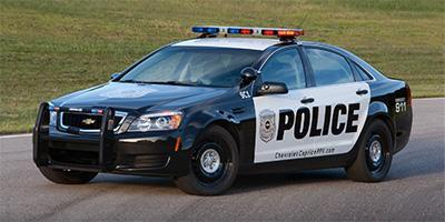 2017 Chevrolet Caprice Police Patrol Vehicle