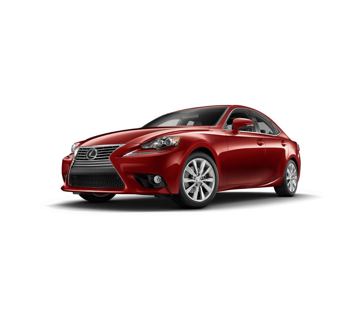 Lexus Extended Warranty: Escondido Redline 2016 Lexus IS Turbo: New Car For Sale -E8060