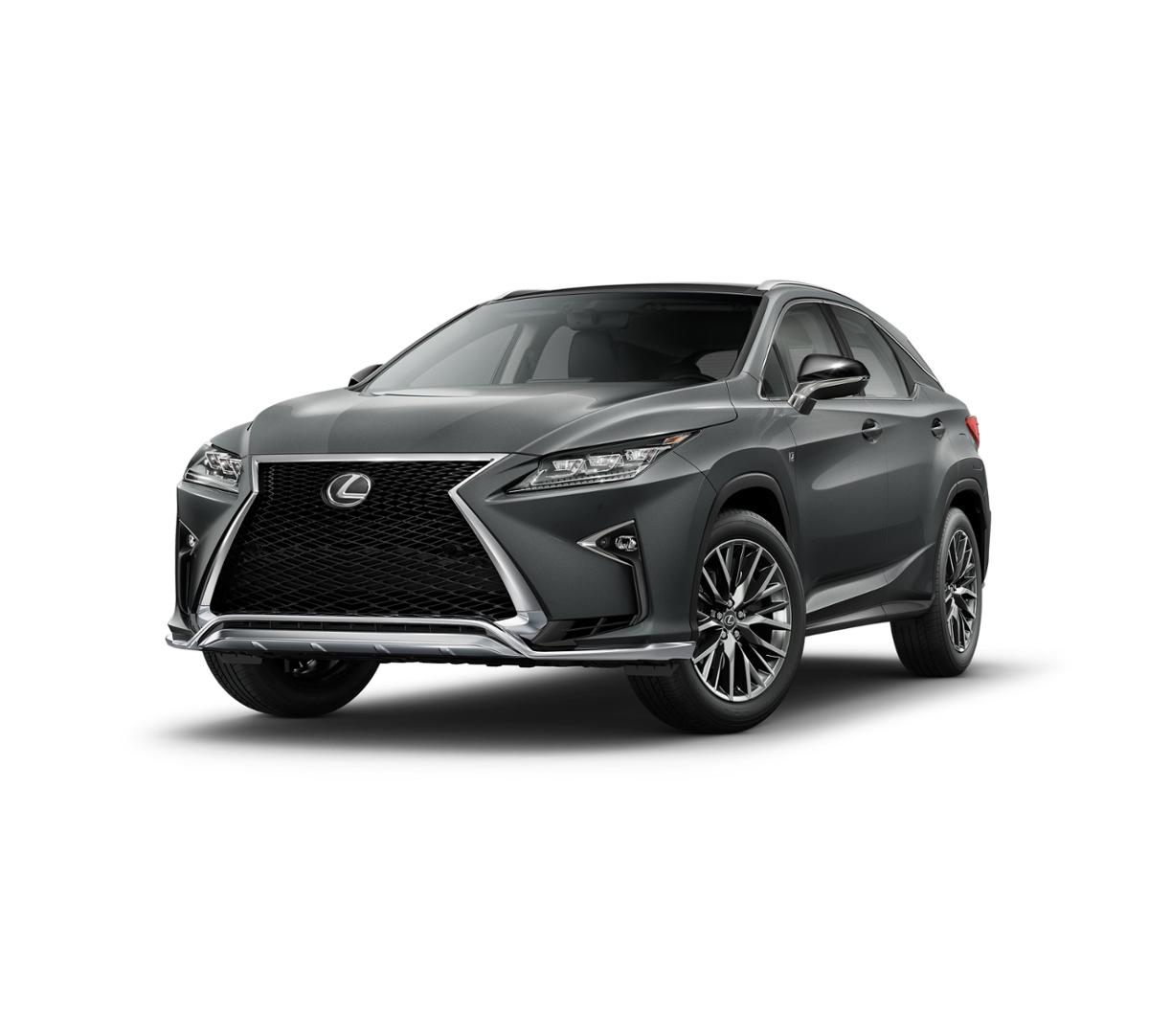 Lexus Sport: New Nebula Gray Pearl 2016 Lexus RX 350 F SPORT For Sale